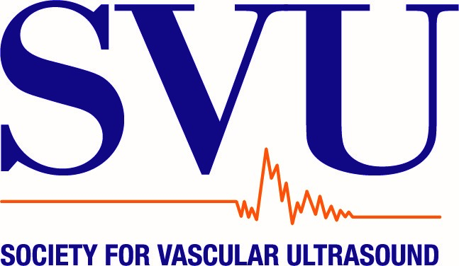 Logo for Society for Vascular Ultrasound | Research. Education. Advocacy.